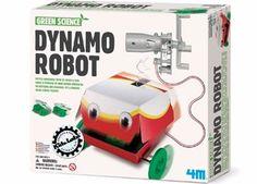 kit green science 'robot dynamo'