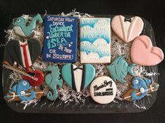 Enchantment Under the Sea Dance Cookie Set from Back to the Future