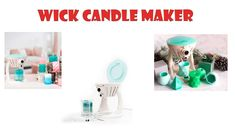 Wick candle maker de We R Memory Keepers. Unboxing y primeras impresione. Decoupage, Candle Maker, We R Memory Keepers, Wicked, Diy, Candles, Cold Porcelain, Tutorials, Make Candles