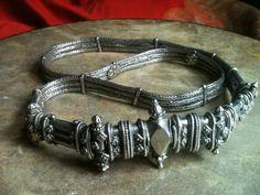Antique silver belt, South India by IndigoandAmber on Etsy, $1200.00    DROOOOOOL