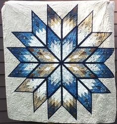 Prismatic Star, Quiltworx.com, Made by CI Carol Thelen