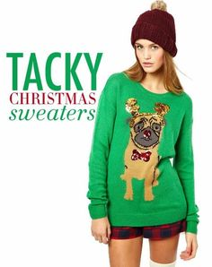f703b1a9b2 Ugly sweaters will give students a chance to exercise their creative  abilities. Tacky Christmas Sweater