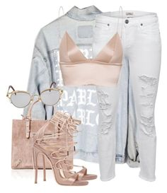 Untitled #3783 by xirix on Polyvore featuring T By Alexander Wang, True Religion, Dsquared2 and Jean-Paul Gaultier