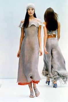 Prada Spring 1993 Ready-to-Wear Fashion Show - Tatiana Sorokko