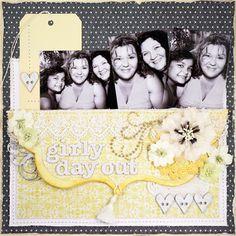 Girly Day Out - Mistra Hoolahan - Australian Scrapbook Ideas #16