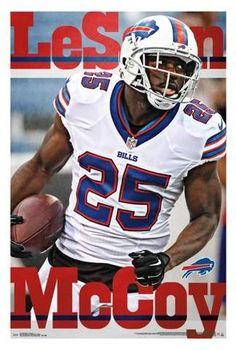 fc8c97e5fa5 Buffalo Bills LeSean McCoy Unframed Wall Poster