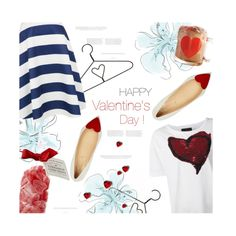 A fashion look from February 2015 featuring Vivienne Westwood Anglomania t-shirts and Christian Louboutin flats. Browse and shop related looks. Modern Outfits, Sexy Outfits, Cute Outfits, Fashion Outfits, Valentine's Day Outfit, Outfit Of The Day, Outfit Ideas, Latest Fashion For Women, Womens Fashion