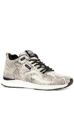 The 35 Lite LX Sneaker in White Snake by Gourmet