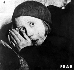 Warsaw, Poland, A frightened child in the ghetto. She did not survive