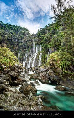 Le Lit de la Cascade Grand-Galet - Ile de la Réunion | Flickr : partage de photos !