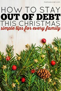 Great tips for staying out of debt this Christmas and still having a memorable season. Simple ideas every frugal family can use! Great tips for kids, parents, and families. Plus, she includes a Free budget printable!