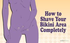 How to shave your bikini area completely. Use #Vcovers #TheToolForHerJewel for the safe close shave! #Vcovers or Amazon!