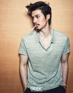 Lee Dong Wook In GEEK Magazine