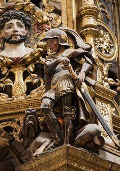 St George slaying the Dragon