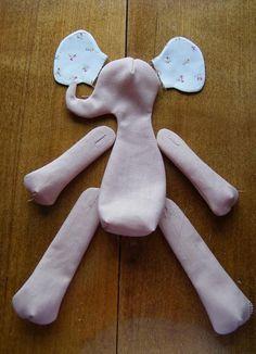 Tilda Elephant. MC for beginners. Part 1-I. - Fair Masters - handmade, handmade