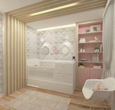 Quarto da bebê | Morrendo de amores por esse quarto lindo da pequena Isabella! O projeto ficou moderninho e feminino, um charme! O que acharam?