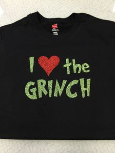 I Love The Grinch Apparel by LMAVDesigns on Etsy https   www.etsy c25aa123e05d