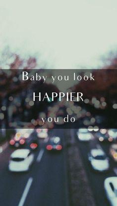 Happier - Ed Sheeran Lyrics Lockscreen
