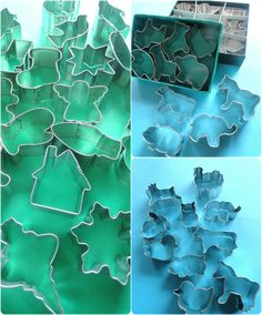 Mini Cookie Cutter Ideas by Kathia Castro From Pink Little Cake @pinklittlecake