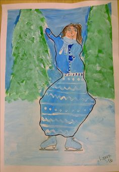 Suomi-neito Happy Independence Day, Finland, Art Lessons, Art Projects, Arts And Crafts, Disney Princess, Disney Characters, Painting, Design