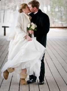 2eb77107b5 29 Awesome Winter Wedding Shoes And Boots You ll Love - Weddingomania Winter  Wedding Boots