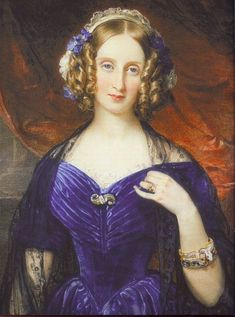 1846 Louise Marie of Belgium by Sir William Ross (Royal Collection) | Grand Ladies | gogm