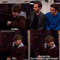 """Do I have the right house?  ▪  #GirlMeetsWorld ▪ episode 116 """"Girl Meets Home for the Holidays"""""""