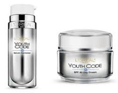 L'oreal Youth Code is actually the dupe of Lancome Genefique Youth Activating Concentrate, also same company