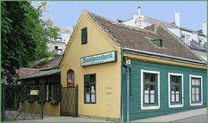 Weinbauverein Neustift und Salmannsdorf Heart Of Europe, Vienna, Shed, Lost, Outdoor Structures, Outdoor Decor, Home Decor, New Pins, Homemade Home Decor