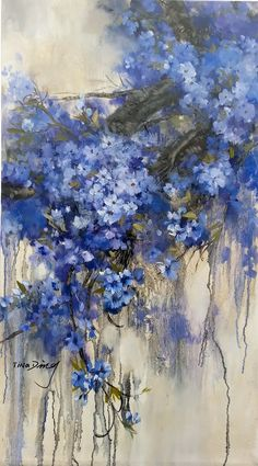 This blue flower tree TinadArt. This blue flower tree TinadArt. The post This blue flower tree TinadArt. appeared first on Diy Flowers. Abstract Flowers, Watercolor Flowers, Watercolor Paintings, Blue Painting, Abstract Flower Paintings, Landscape Paintings, Blue Flower Wallpaper, Pintura Country, Blue Art