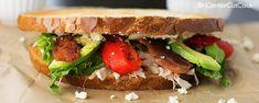 Chicken, Bacon & Blue Cheese Sandwiches