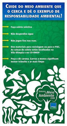 Banner Semana do Meio Ambiente