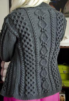 Ruth aran cardigan (Ethnic Knitting Adventures): Knitty Winter 2012 ... the new Knitty is up! The new Knitty is up!! @Katrina Alvarez Alvarez Alvarez Fifer