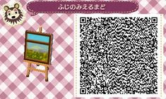Window in Springtime - Animal Crossing New Leaf QR