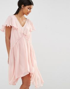 Image 1 ofFrench Connection Brooke Drape Dress