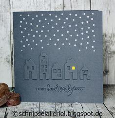 SCHNIPSELALLERLEI: Häuschen im Schnee...