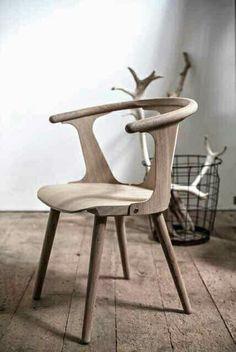 retro wooden chair