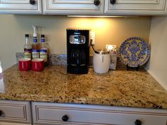 After watching HGTV's  Bang with a Buck  recently, my husband and I decided to do a DIY project in our kitchen. Actually, only one of us d...