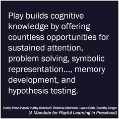 Play based learning And play should NOT stop when kids turn :-) Preschool Quotes, Teaching Quotes, Education Quotes, Inquiry Based Learning, Early Learning, Kids Learning, Early Childhood Quotes, Early Childhood Education, Early Education