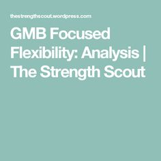 gmb focused flexibility review