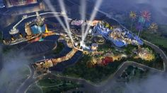 Twentieth Century Fox World Theme Park to Open in Resorts World Genting in Malaysia Layout Banner, Avatar, Genting Highlands, Night At The Museum, Florida, Alien Vs, Planet Of The Apes, Universal Orlando, Universal Studios