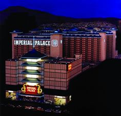 Imperial Palace, Las Vegas, NV - now known as The Quad Resort and Casino. I stayed here on my first visit to Vegas in 1995.