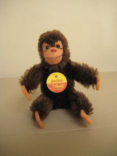 #Steiff #Vintage Jocko #Chimpanzee - Excellent Condition and Oh So Cute!! - EAN 0020/11