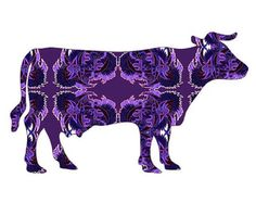 cow painting – Etsy