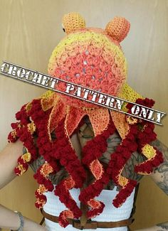 Updated Crochet Octopus Hat PATTERN pls read description
