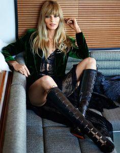 nice Vogue Rússia Dezembro 2014 | Ieva Laguna por Bjarne Jonasson  [Editorial]