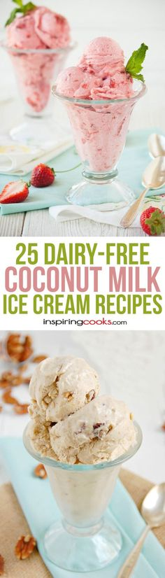 25 of the Best Dairy-Free Coconut Milk Ice Cream Recipes