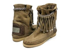 Karma of Charme Dakota boots - lever / taupe