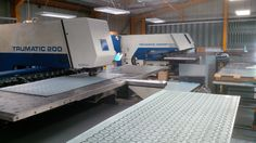 Looking for a sheet metal worker based in the UK using Trumpf CNC punch presses, give V and F Sheet Metal a call http://www.vandf.co.uk/plant-list/trumpf-200r-3000r-cnc-punch/