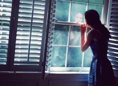 I still wait for my husband by the window like this! Window Photography, Dream Photography, Steven Wright, Character Bank, Kiss Of Death, The Way I Feel, Looking Out The Window, Shadow Play, What Do You See